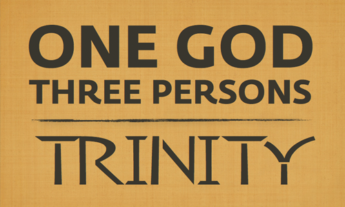 One God, Three Persons: Trinity | New Song Fellowship