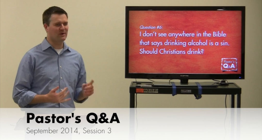 Pastor's Q&A - September 2014, Session 3