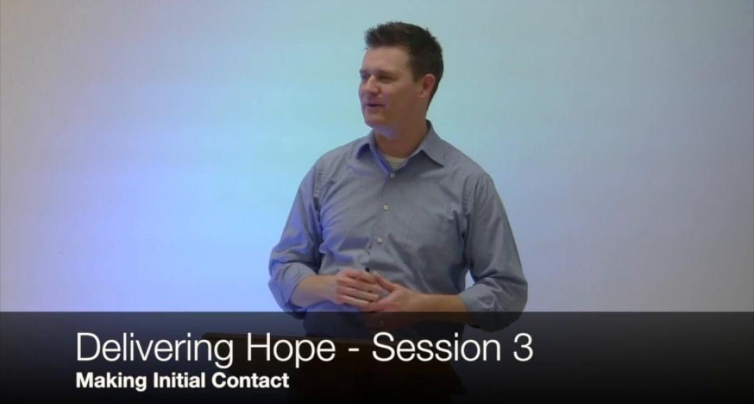 1-21-15 Delivering Hope: Session 3
