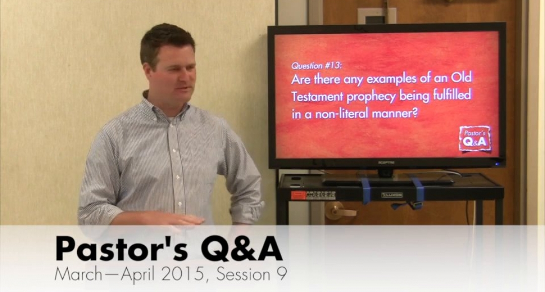Q&A - Interpreting Prophecy: Literal vs. Symbolic