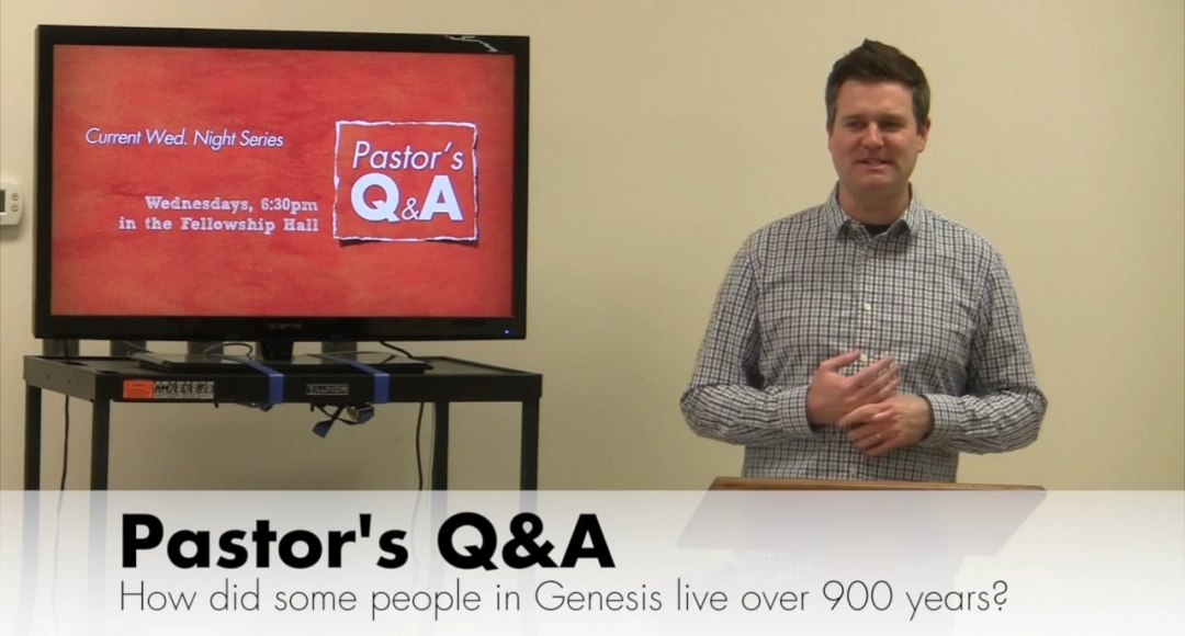 Q&A How Did People in Genesis Live So Long?