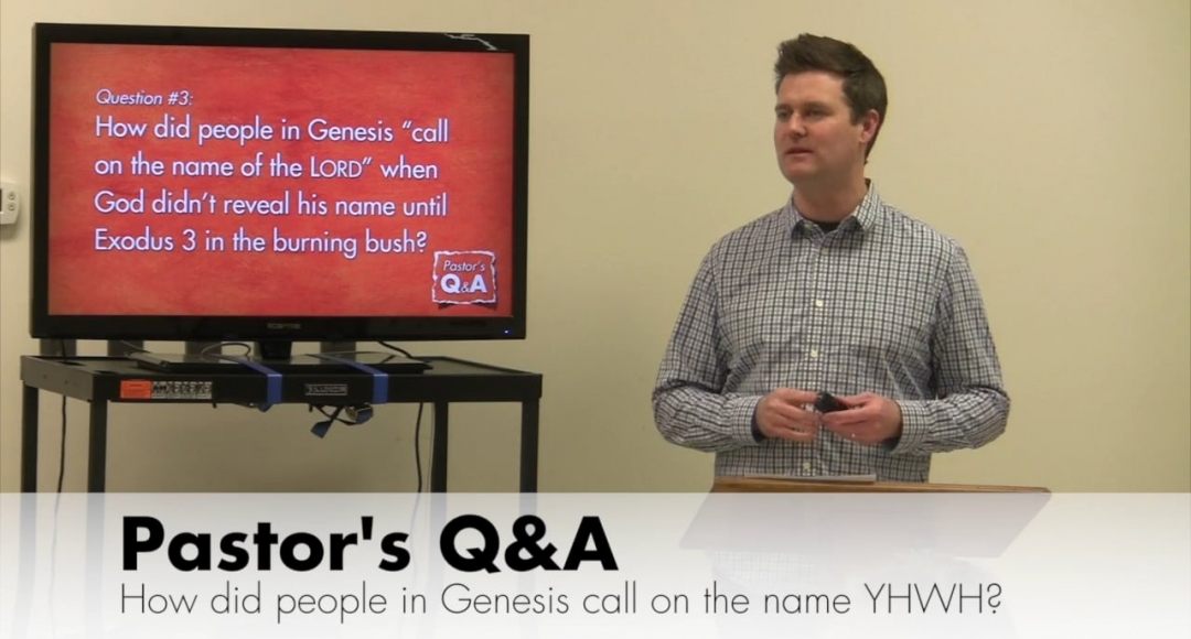 Q&A When Was God's Name, YHWH, Revealed?