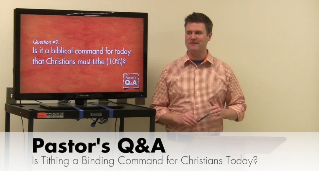 Q&A: Is Tithing a Binding Command on Christians Today?