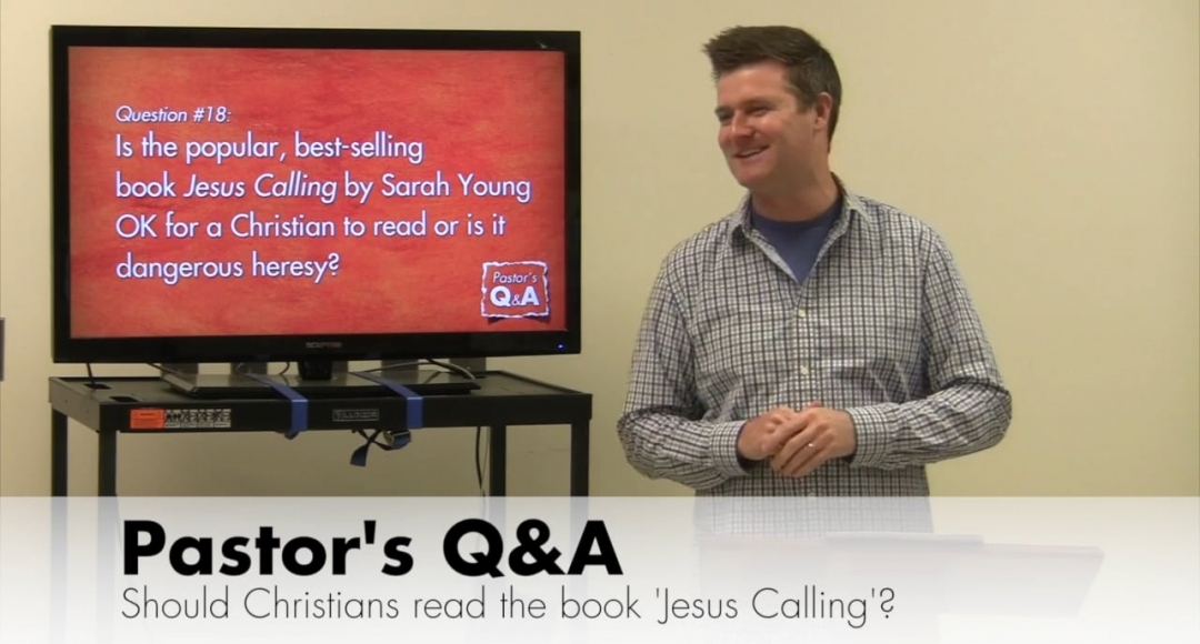 Q&A: Should Christians Read the Book 'Jesus Calling'?