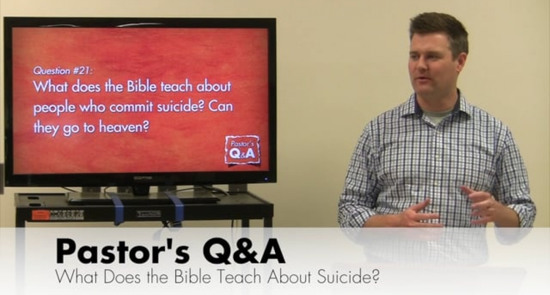Q&A: What Does the Bible Teach About Suicide?