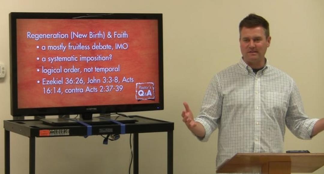 Q&A: Does Regeneration Precede Faith?