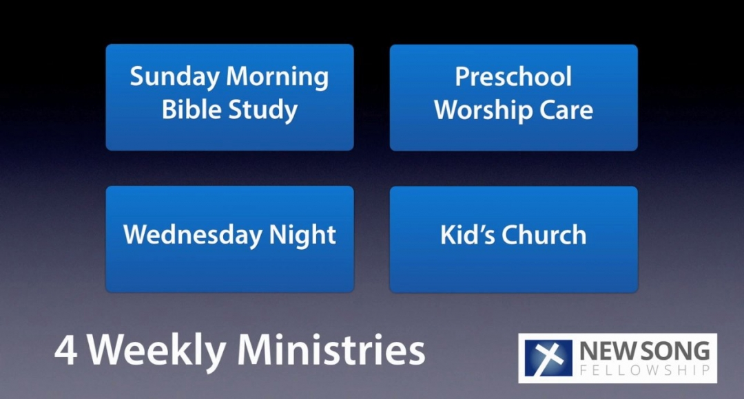 2014 New Song Fellowship Ministry Update #2 - Children's Ministry
